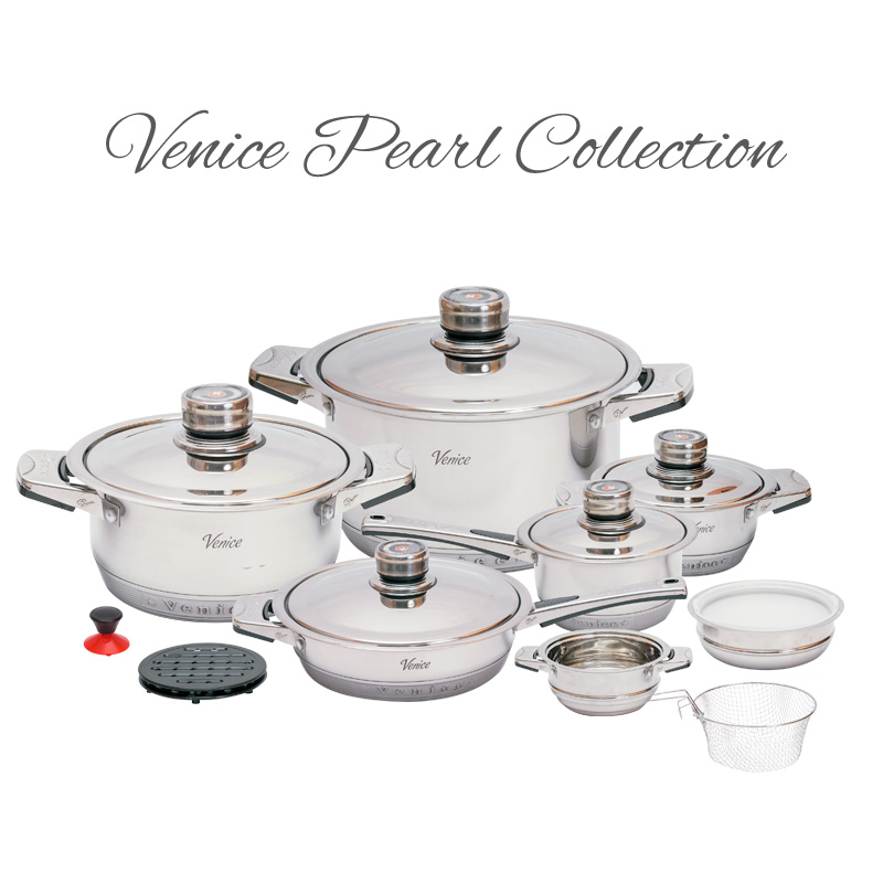 garnki venice pearl collection 19 opinie ceny